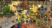 176五区三军混战玛法,古典神途里战火熊熊燃烧